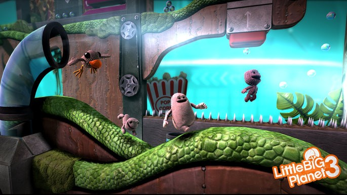 The LittleBigPlanet 3 ps4 jogo