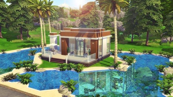 The Sims 4 construções