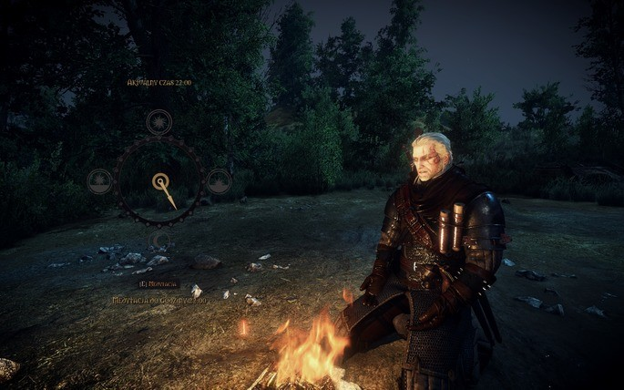 The Witcher 3 meditacao
