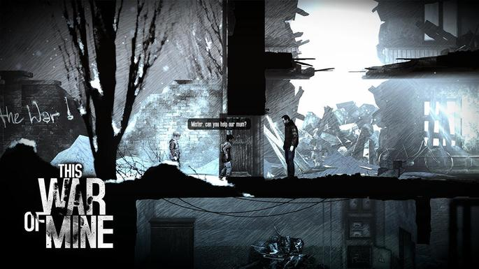 This War of Mine ps4 jogo