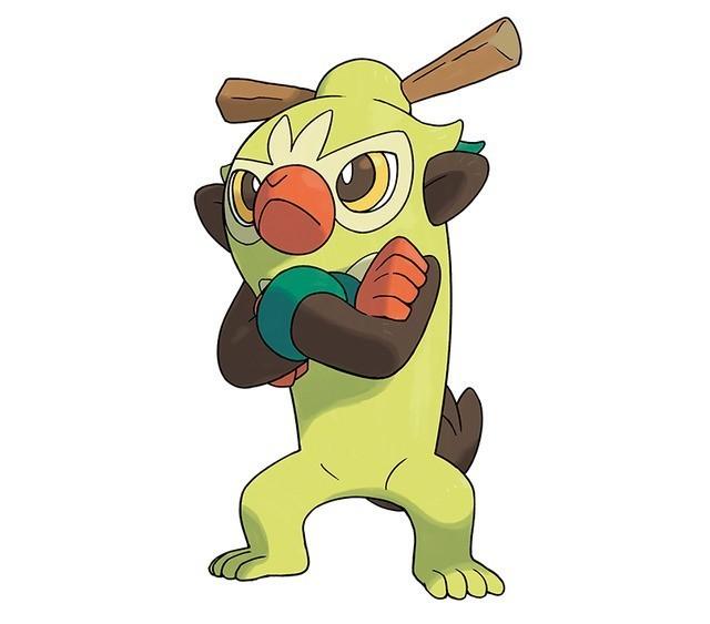 Thwackey Pokémon Sword and Shield