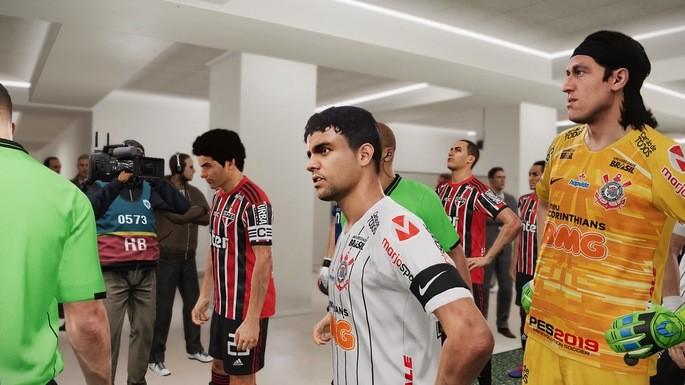 Times brasileiros PES 2020