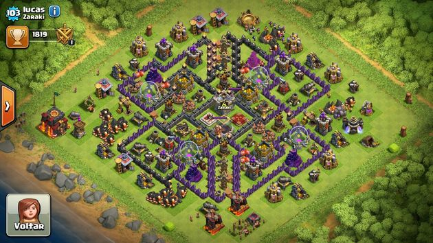 Tipos de layout clash of clans