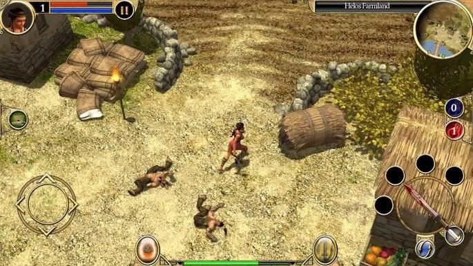 Titan Quest - jogos estilo Diablo