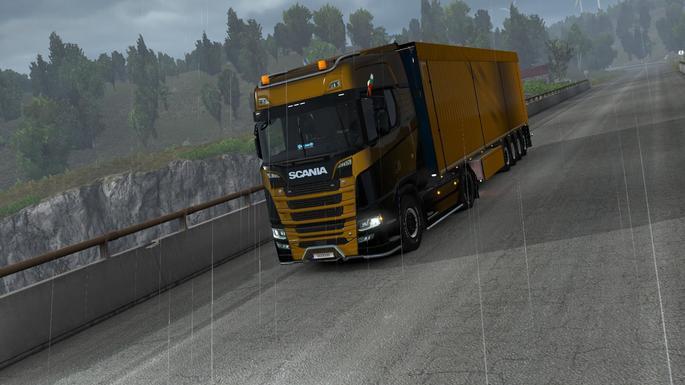 Euro Truck todas as partes de caminhões mod