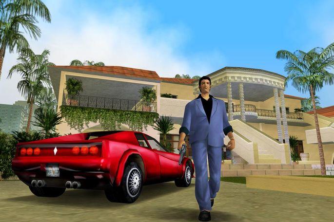 Tommy Vercetty GTA Vice City