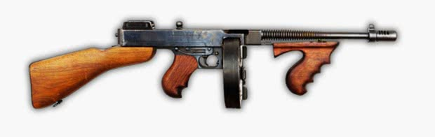 Tommy Gun SMG Pubg