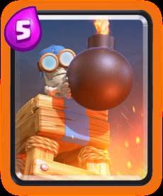 Torre de Bombas - Clash Royale