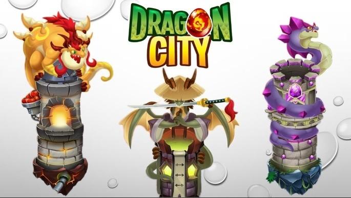 Torres - Dragon City