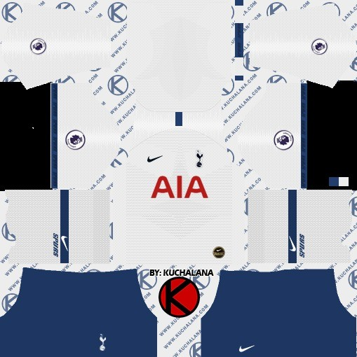 Tottenham Dream League Soccer kit