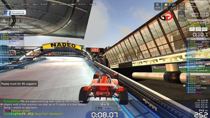 Trackmania Nations Forever - PC Fraco - Steam