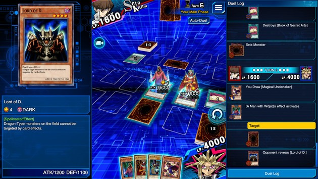 Trap cards Yu-Gi-Oh! Duel Links
