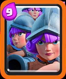 Três Mosqueteiras - Clash Royale