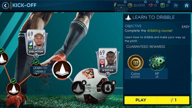 Tutorial FIFA Mobile