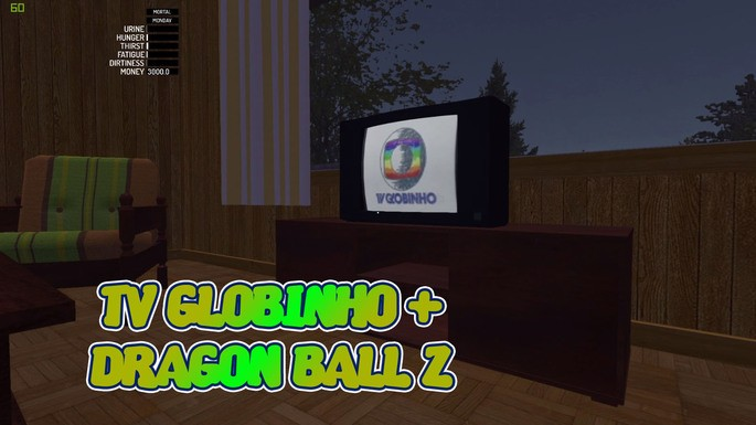 TV Globinho mod my summer car