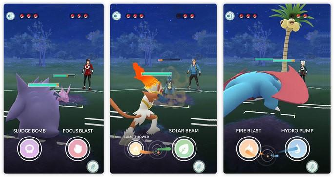 Melhores ataques - Pokémon GO