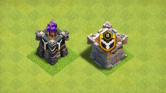 Unidades de defesa de Clash of Clans
