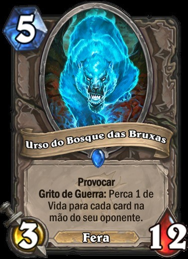 Urso do Bosque das Bruxas - Hearthstone