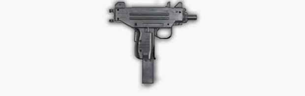 UZI - Melhores armas PUBG