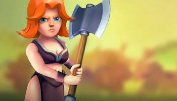 Como jogar com Valquíria, a lutadora feroz de Clash Royale!