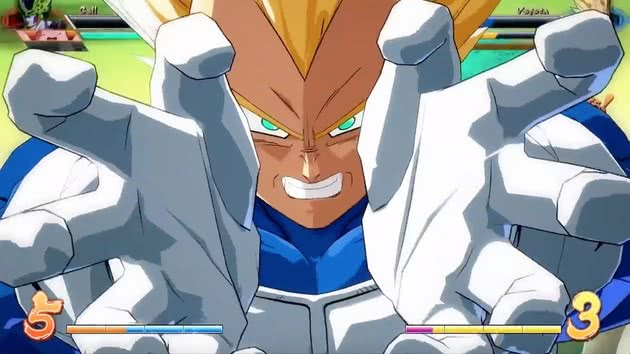 Vegeta - Dragon Ball Fighter Z