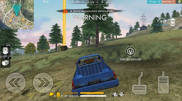 Veiculos Free Fire
