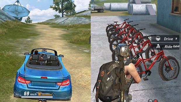 Carro e Bicicleta ROS