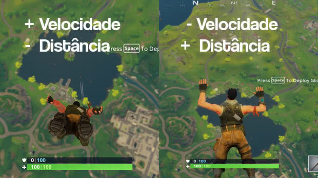Cair mais rapido Fortnite
