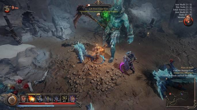 Vikings Wolves of Midgard - jogos estilo Diablo