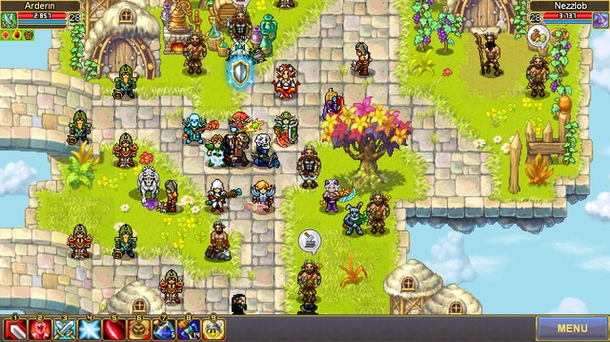 MMORPG para PC Fraco