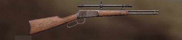Winchester 94 - Melhores armas PUBG