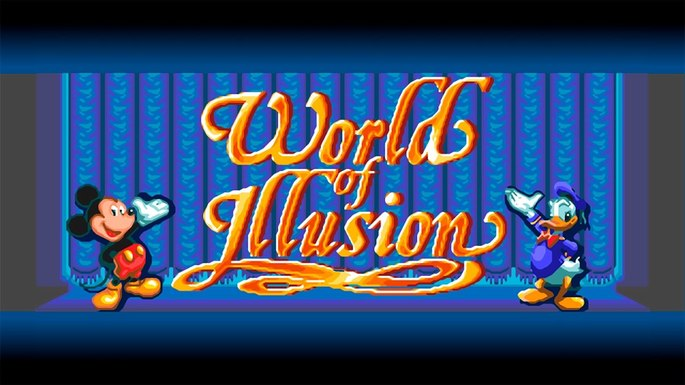 World of Illusion mega drive