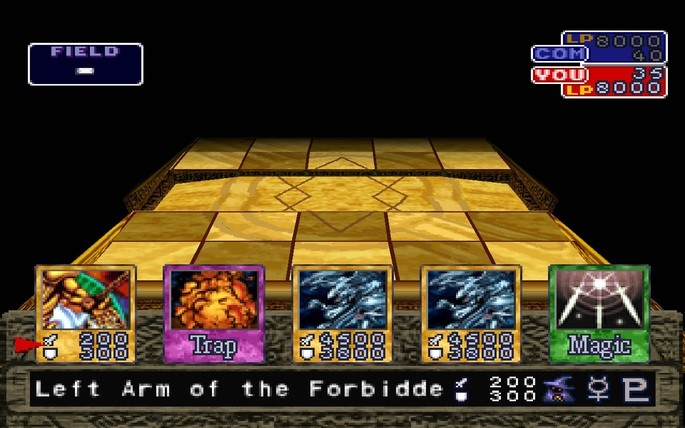 Yu-Gi-Oh Forbidden Memories PlayStation 1
