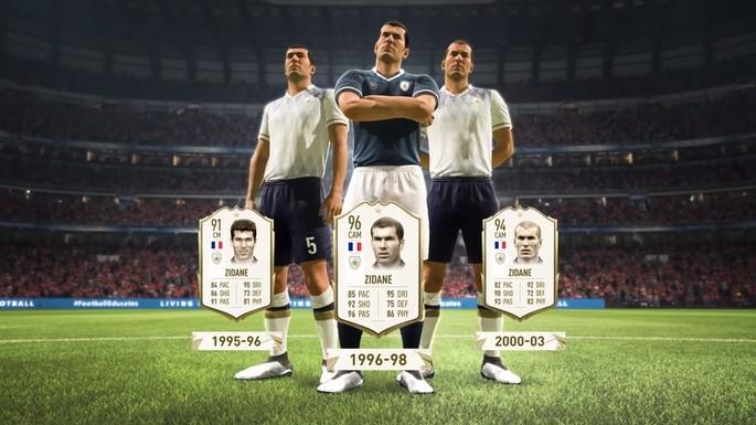 Zidane FIFA 20 Ícones