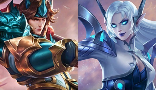 Zilong e Eudora - Mobile Legends