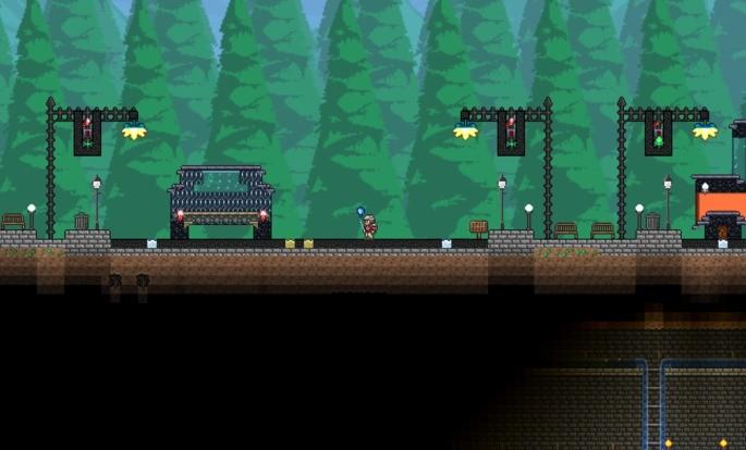 Zombieland Mapa Terraria