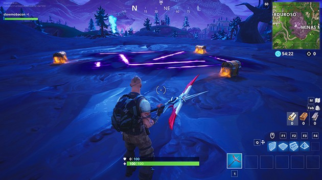 Zona Corrompida Fortnite