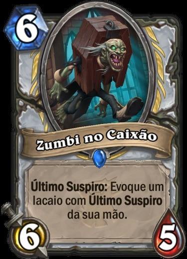 Zumbi no Caixão - Hearthstone