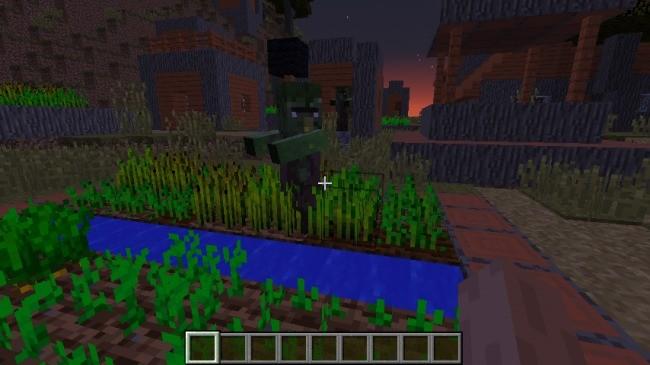 Villa de los zombis - Semillas minecraft